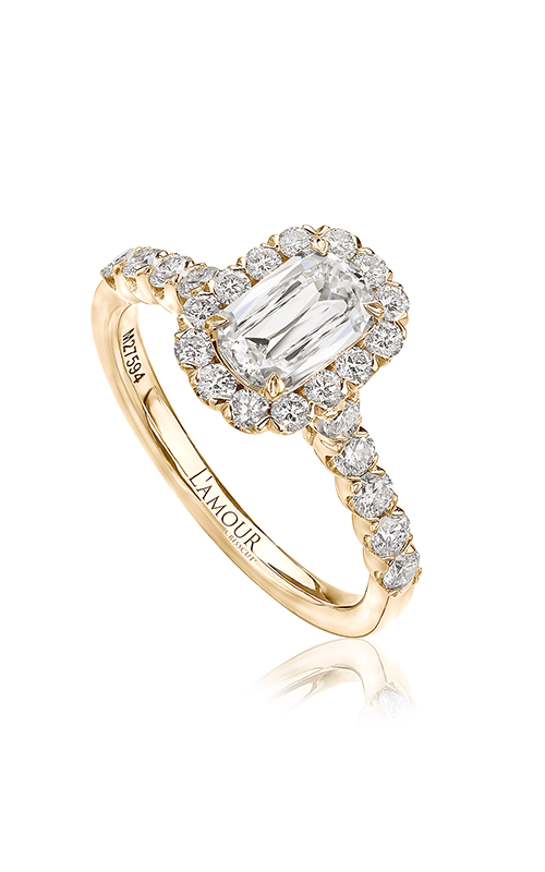 Christopher Designs Engagement ring L101-075-18Y product image