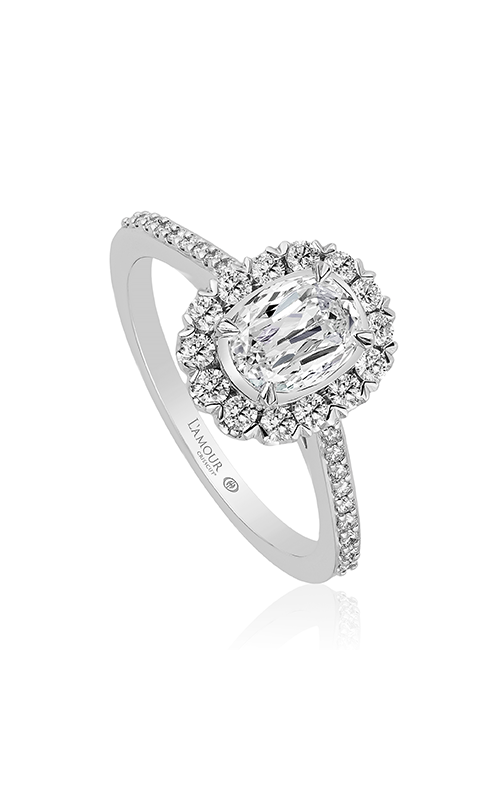 Christopher Designs Engagement ring L227-LOV075 product image