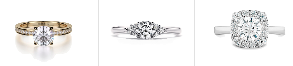 Modern Engagement Rings in Honolulu hi